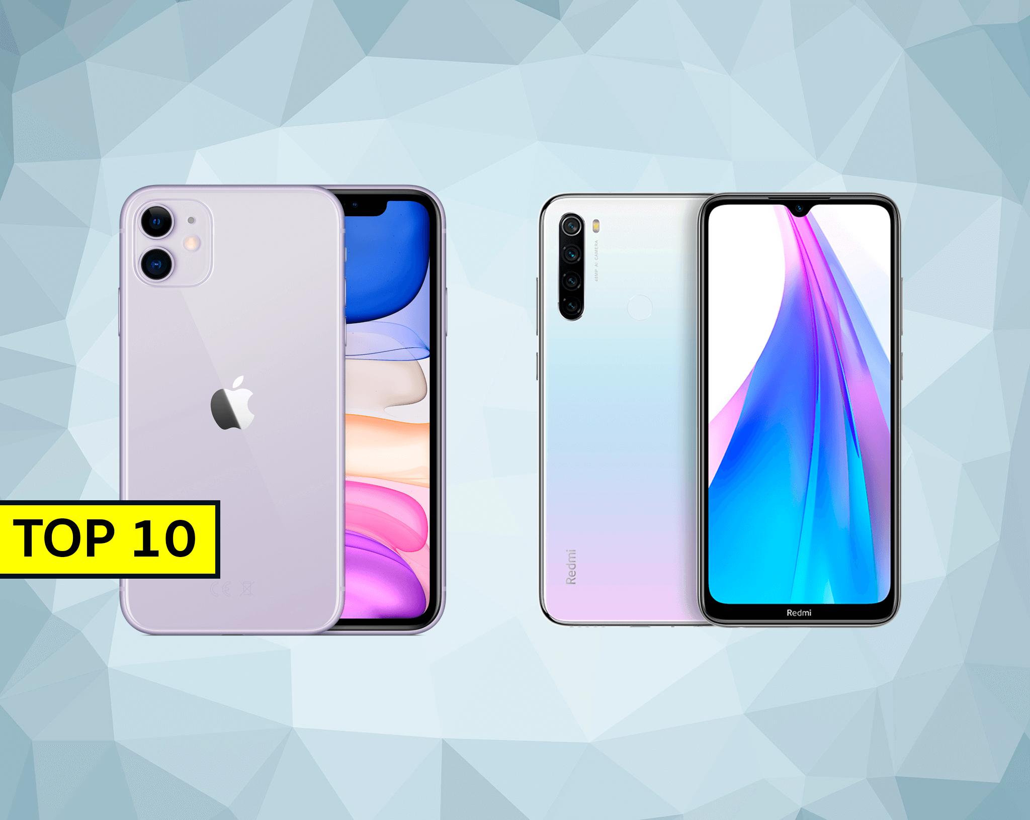 Estos son los 10 móviles más vendidos de 2020, ¿está el tuyo en la lista?