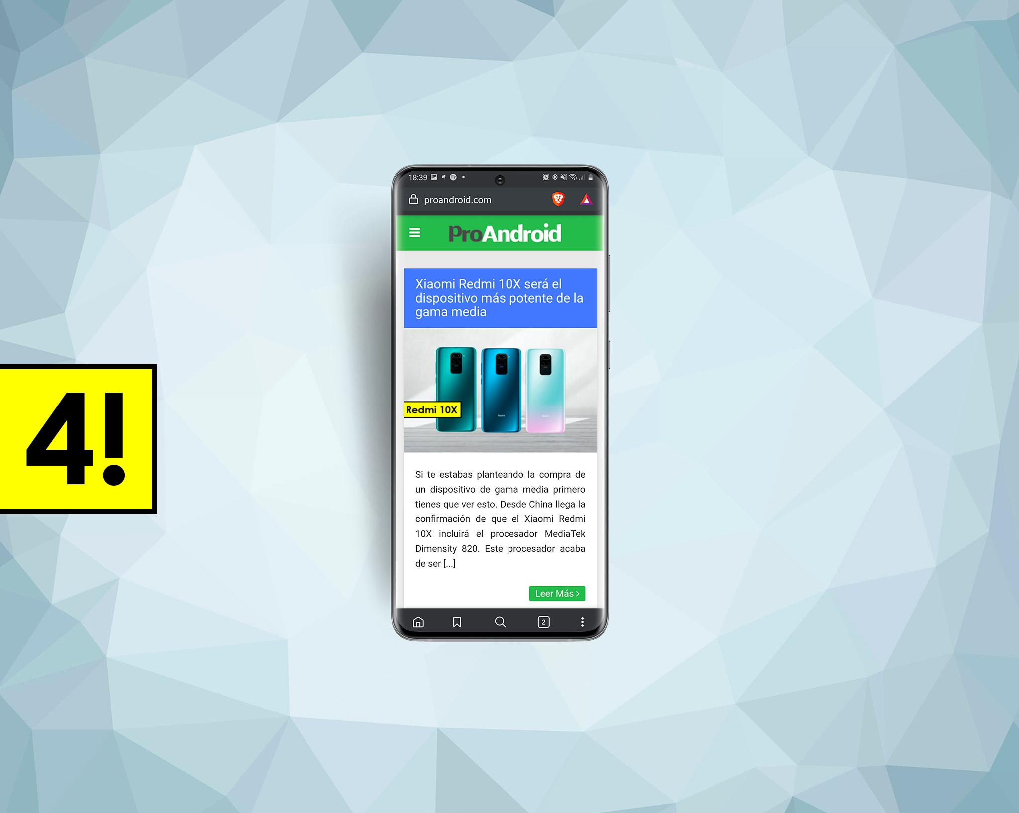 4 navegadores para Android que deberías probar si estás harto de Google Chrome