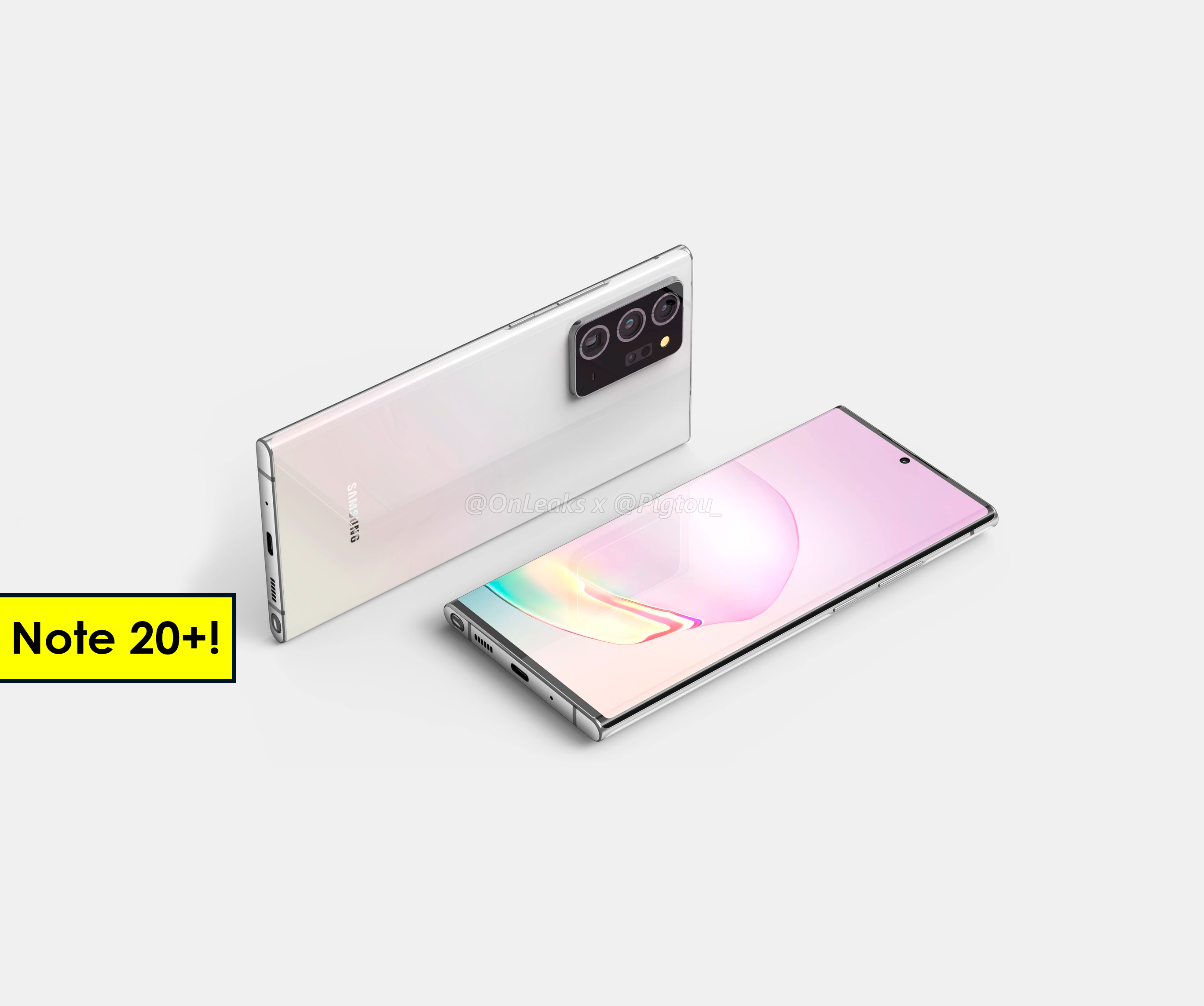 Así es el Samsung Galaxy Note 20 Plus: todos los detalles del diseño