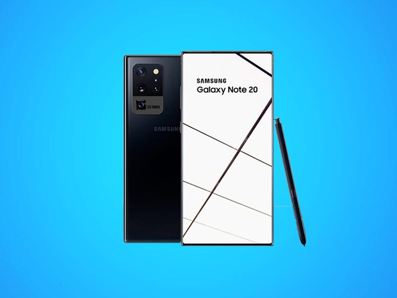 Nuevos detalles del Samsung Galaxy Note 20: pantallas, mejor sensor de huellas y hasta 16 GB de RAM