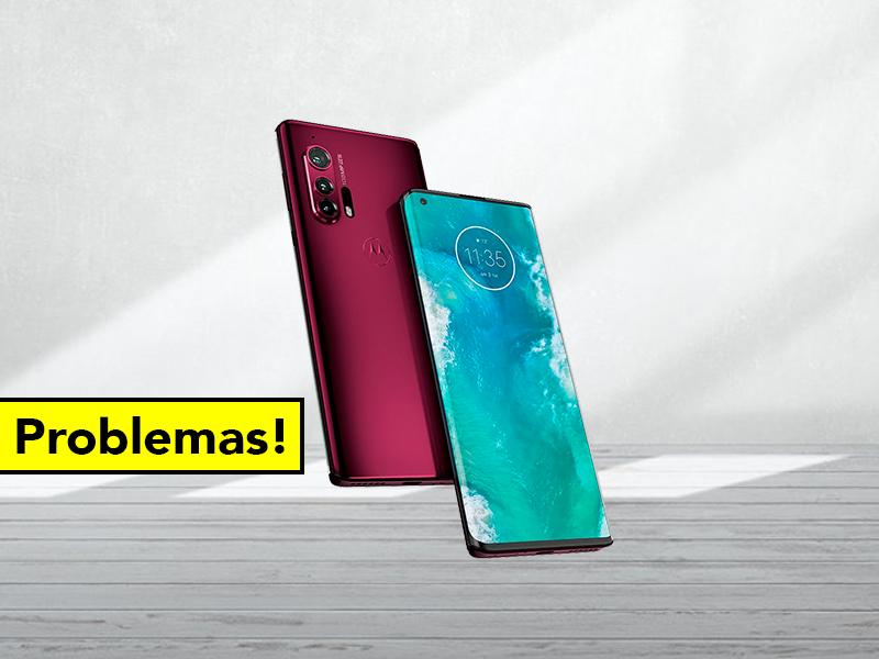 Problemas para el Motorola Edge: el nuevo gama alta tiene serios fallos en la pantalla