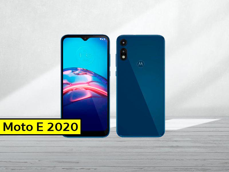 El Motorola Moto E 2020 es oficial: así es el móvil más barato de la compañía