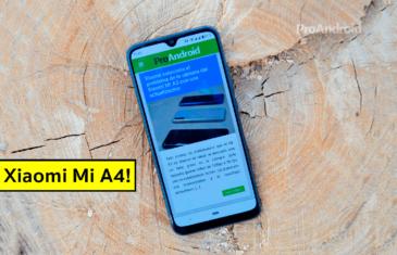 Primeros detalles del Xaiomi Mi A4: procesador, cámara y conectividad