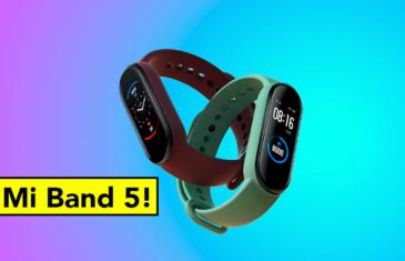 La Xiaomi Mi Band 5 es oficial: todo sobre la nueva pulsera calidad precio