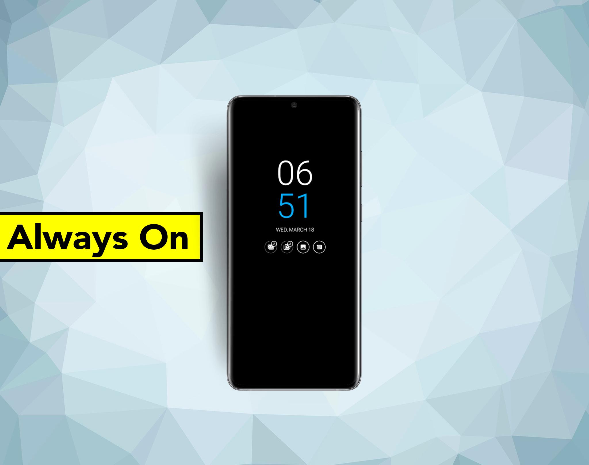 Así puedes tener el modo Always On en cualquier móvil y consumir menos batería
