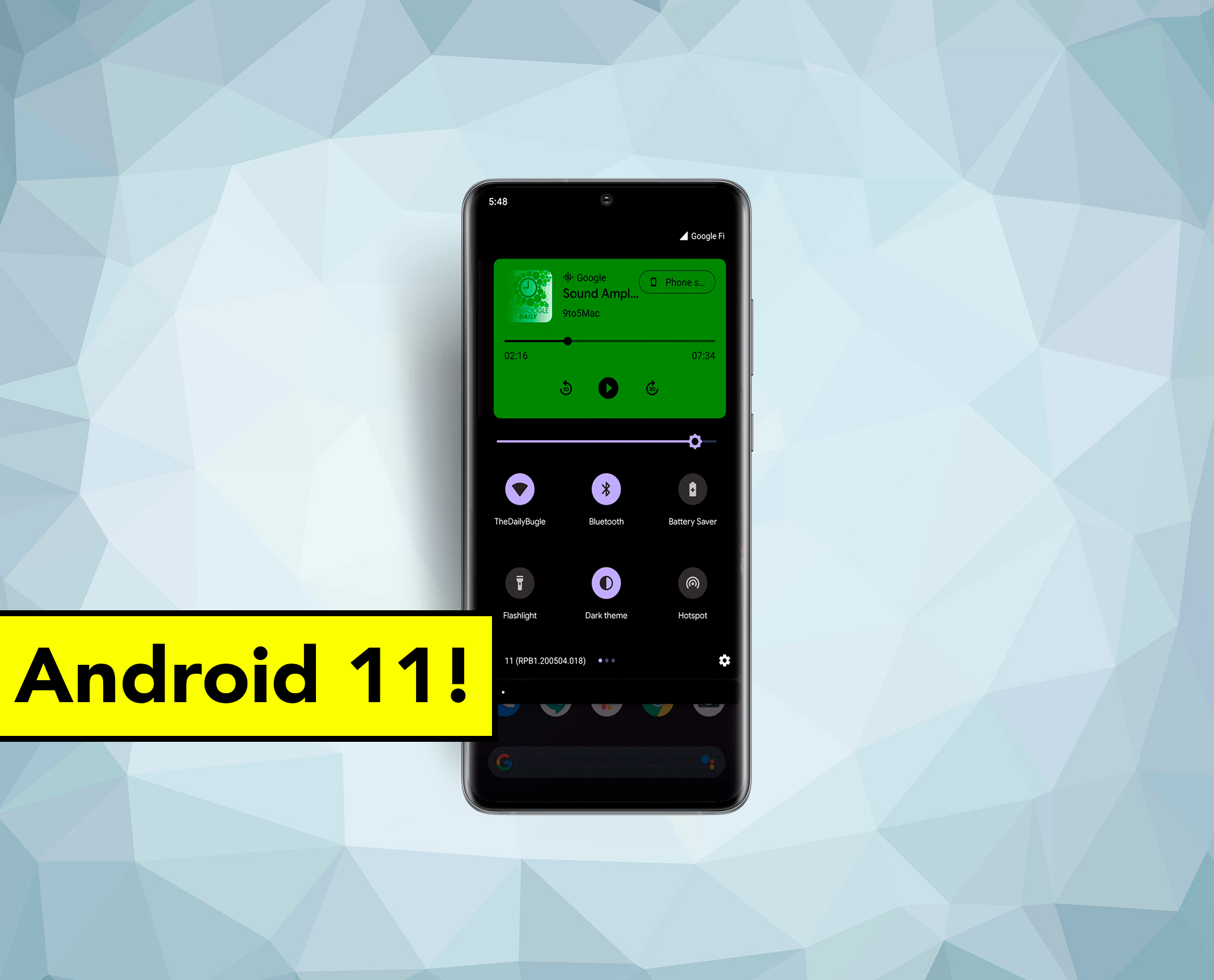 Así cambia el control multimedia en Android 11: adiós notificaciones y agrupación de varias aplicaciones