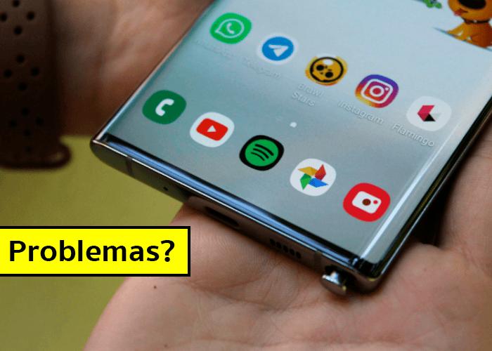 Problemas con una aplicación en Android: cómo solucionarlos