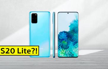 Samsung Galaxy S20 Lite: gama media, más barato y ¿con pantalla plana?