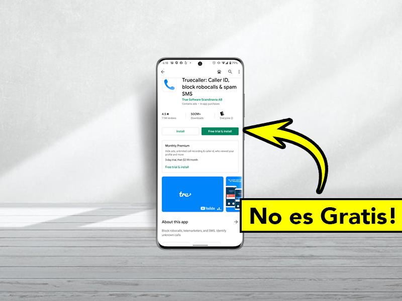 Cuidado con el nuevo botón 'Probar gratis e instalar' de Google Play: podría salirte muy caro