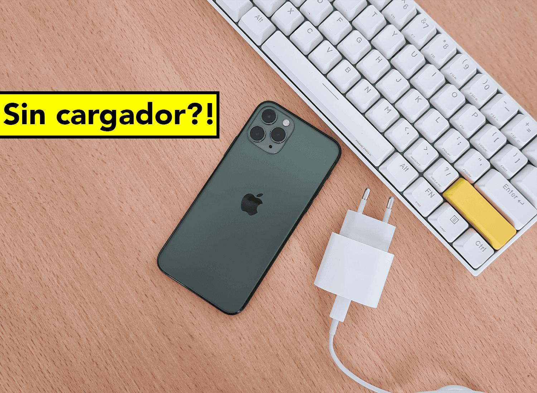 Apple no incluirá cargador en el iPhone 12, ¿ocurrirá esto también en Android?