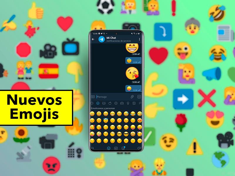 Nuevos emojis que llegarán a tu móvil Android: cambio de diseño y 62 nuevos