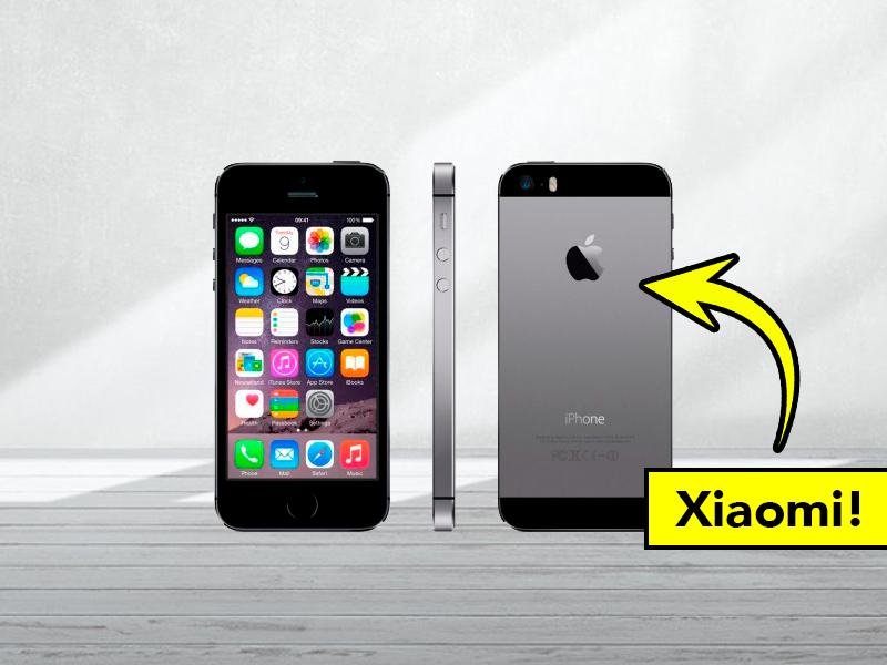 Este misterioso móvil Xiaomi se parece a un iPhone de 2012