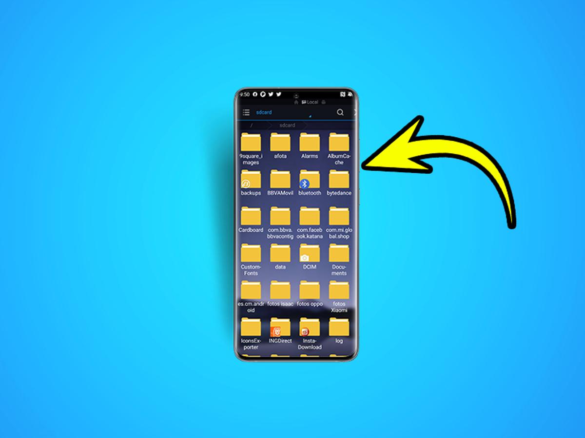 Android los donde guardan en se carpeta contactos Cómo funciona