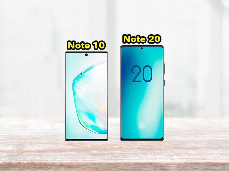 Muchos cambios para el Samsung Galaxy Note 20: pantalla plana y más grande