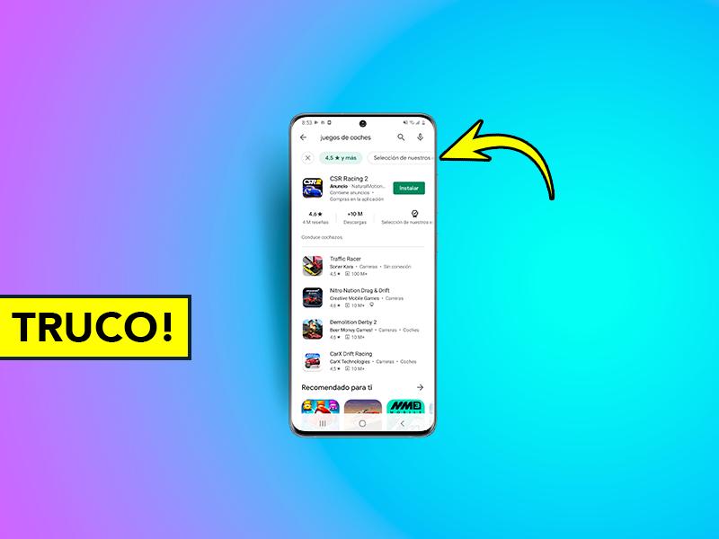 El nuevo truco de Google Play que deberías probar en tu smartphone