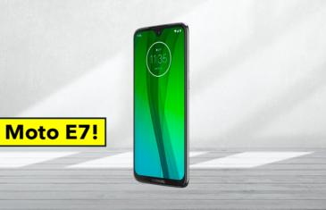 Revelado el diseño del Motorola Moto E7 y más características importantes