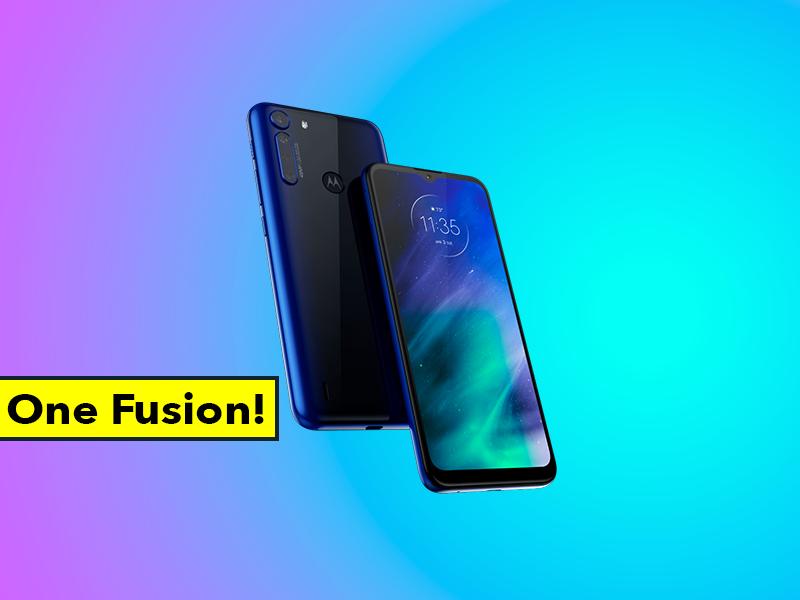 Motorola One Fusion es oficial: Snapdragon 710, muchas cámaras y 5.000 mAh