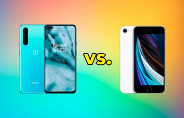 OnePlus Nord vs iPhone SE 2020, ¿cuál merece más la pena comprar?