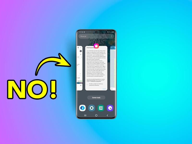 6 cosas que no debes hacer con tu móvil Android