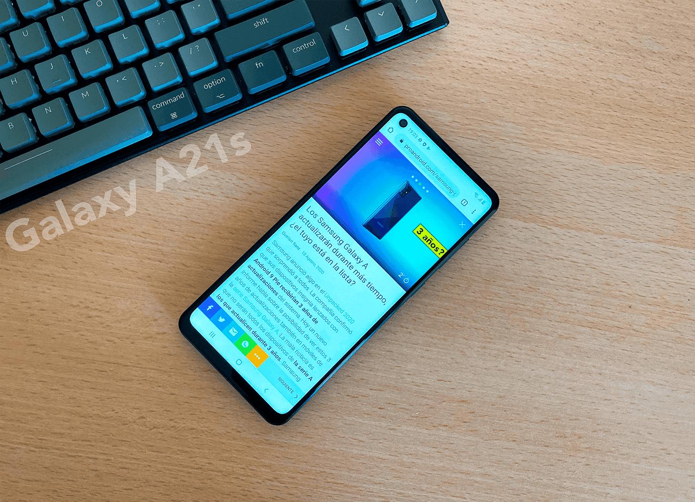 4 cosas que nos han gustado del Samsung Galaxy A21s y 2 que no tanto