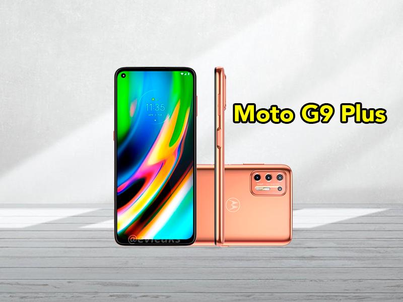 Este es el Motorola Moto G9 Plus, filtrado su diseño con todo lujo de detalles