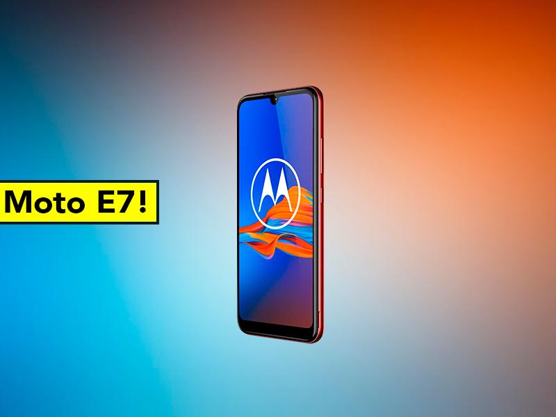 Más detalles del Motorola Moto E7: nuevo diseño, batería gigante y precio filtrado