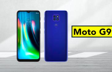 El Motorola Moto G9 es oficial: todo lo que debes saber sobre él