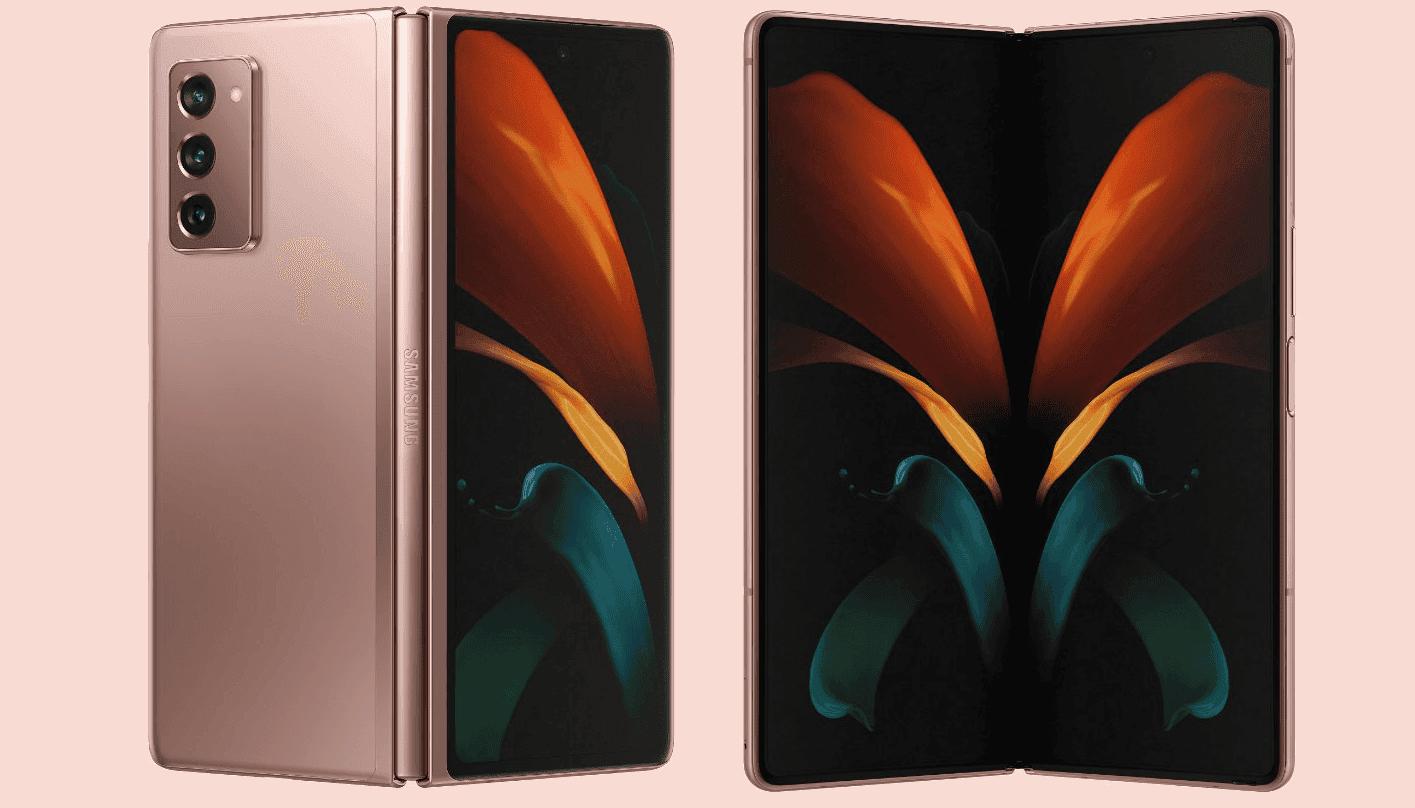Samsung Galaxy Z Fold 2 bronce