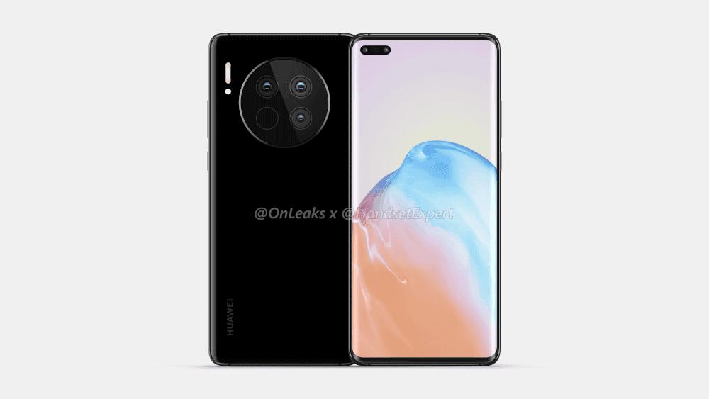 Huawei Mate 40 frontal