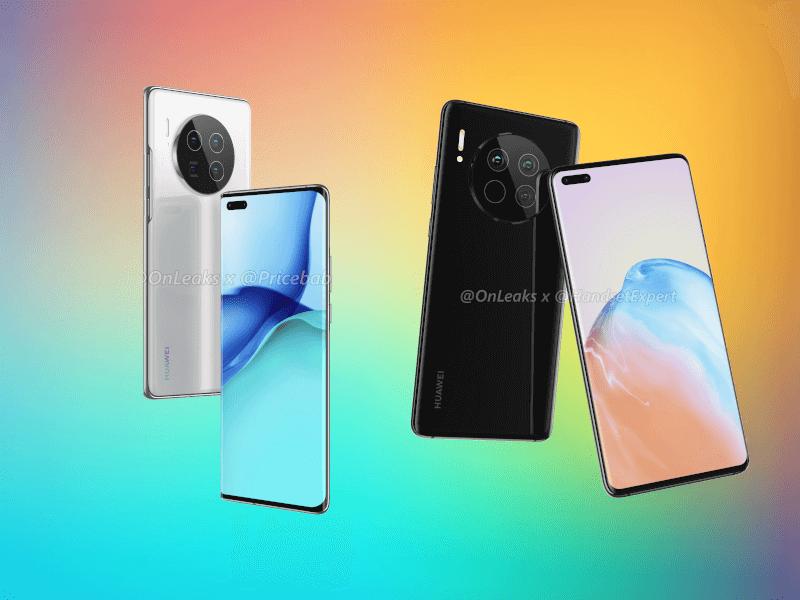El diseño del Huawei Mate 40 y del Mate 40 Pro filtrado a todo detalle