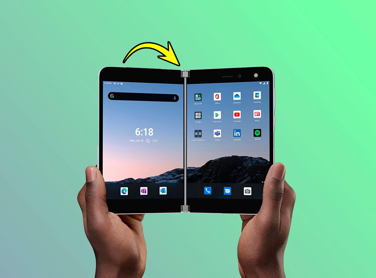 Microsoft Surface Duo, una tablet plegable con Android muy extraña y muy cara