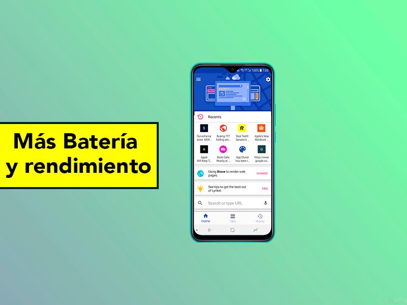Ahorra batería y mejora el rendimiento con estos navegadores para Android