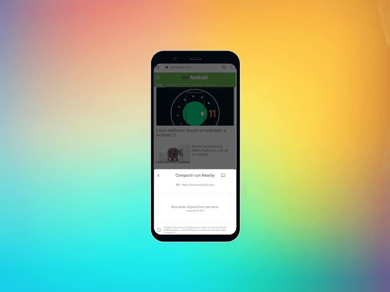Así es Nearby Share: el AirDrop que puedes usar en Android