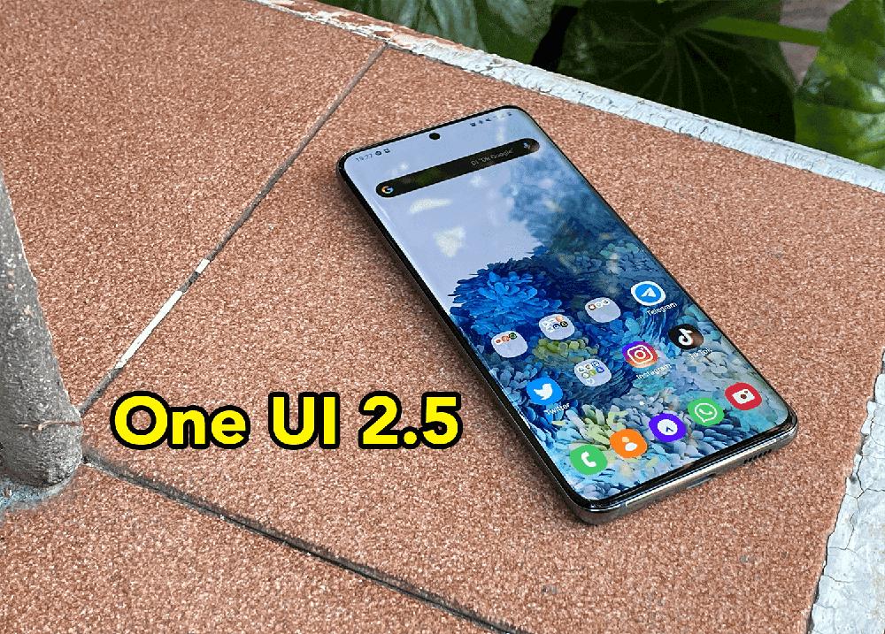 Lista de todos los móviles Samsung que actualizarán a One UI 2.5 oficialmente