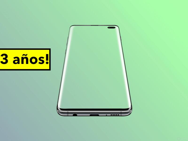 Samsung actualizará sus móviles de gama alta durante 3 años
