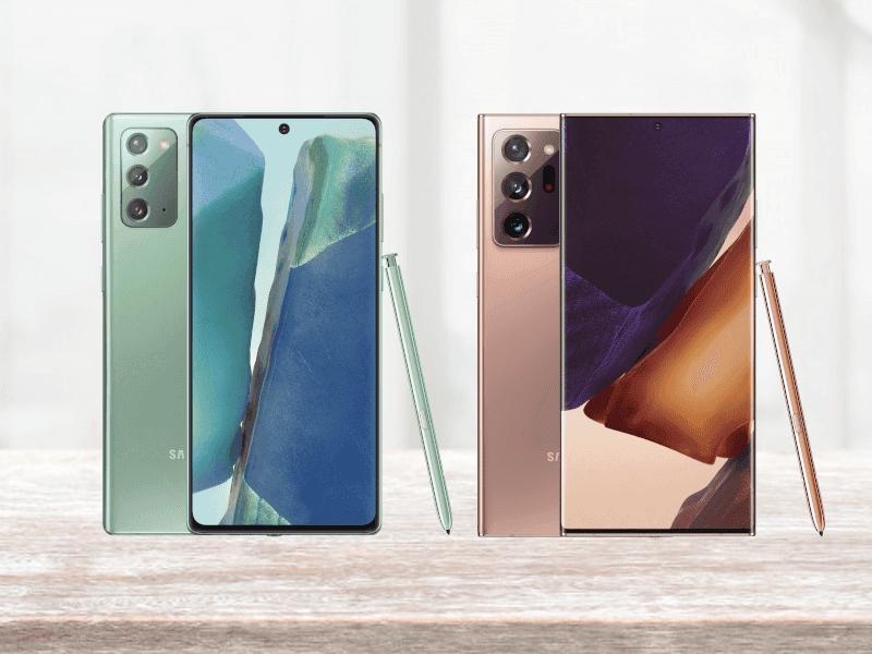 Samsung Galaxy Note 20 y Galaxy Note 20 Ultra