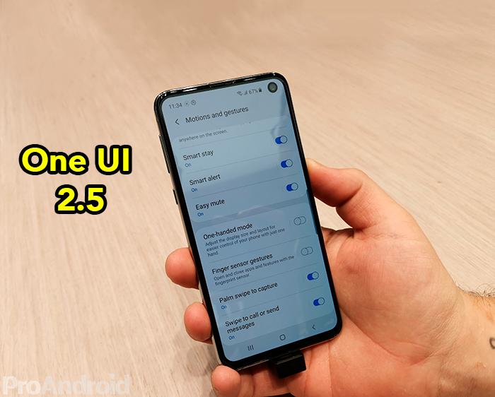 Estos smartphones Samsung ya están recibiendo One UI 2.5 con las novedades de los Galaxy Note 20