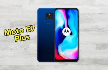 Precio, características y diseño del Motorola Moto E7 Plus: esto es lo que debes saber sobre el próximo ¿gama media?