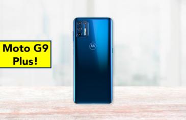 El Motorola Moto G9 Plus al descubierto: filtrado el diseño y sus características