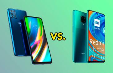 Motorola Moto G9 Plus vs Redmi Note 9 Pro, ¿qué dispositivo merece más la pena?