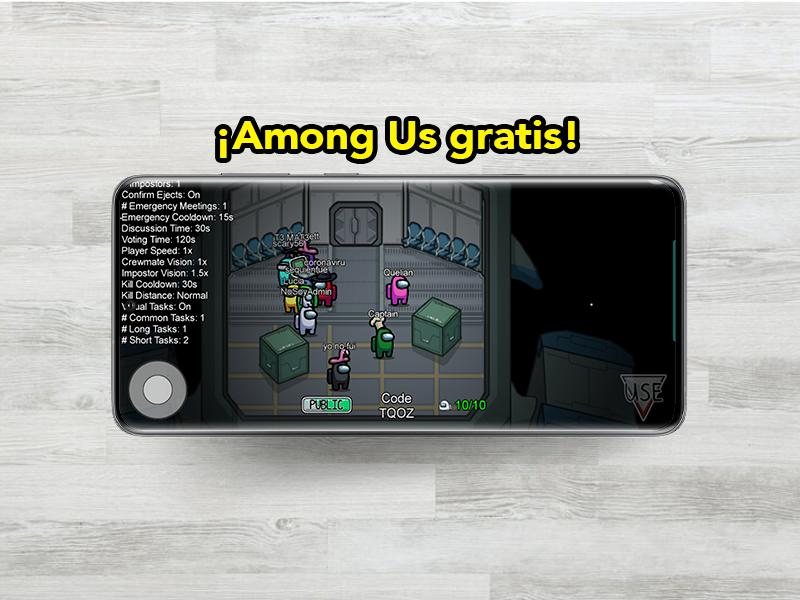 Cómo jugar Among Us en el móvil: descárgalo gratis