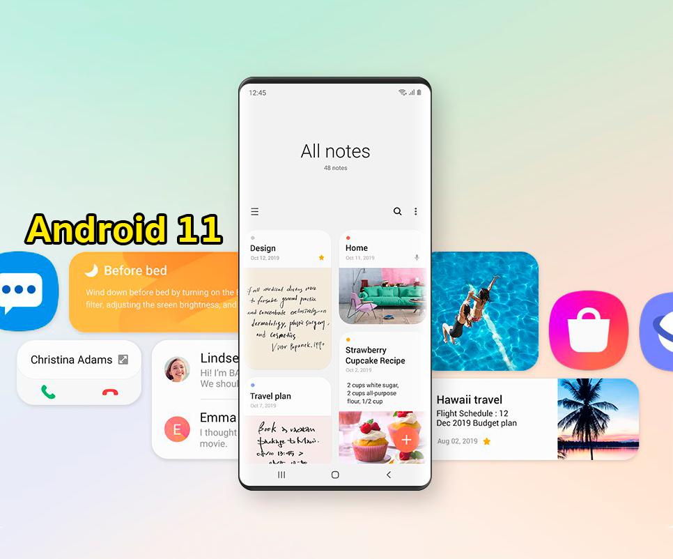 Estas son las novedades que recibirá tu móvil Samsung con Android 11 y One UI 3.0