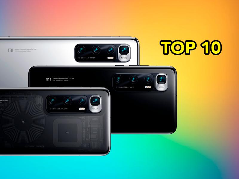Aquí están los 10 smartphones más potentes del mundo: Xiaomi consigue la primera posición