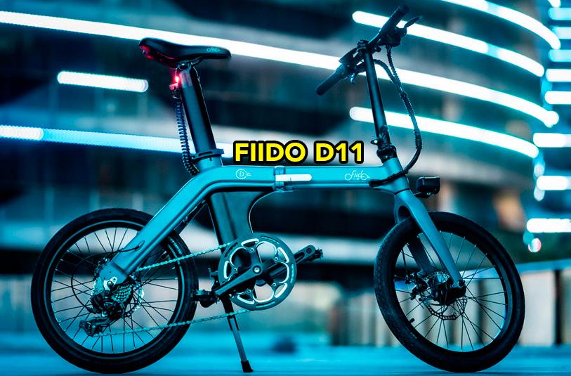 FIIDO D11: 100km de autonomía, eléctrica, plegable…
