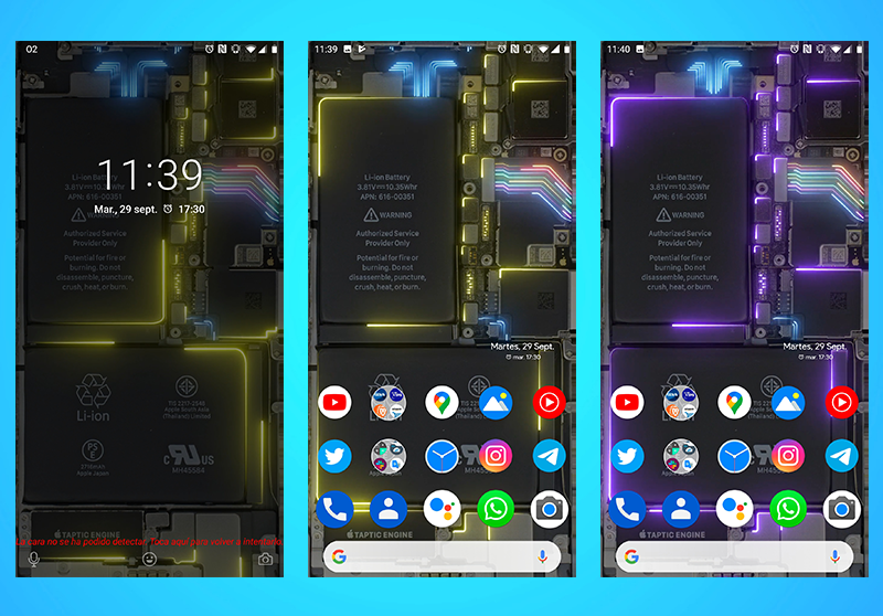 Instala Este Espectacular Fondo De Pantalla En Tu Android Es Transparente