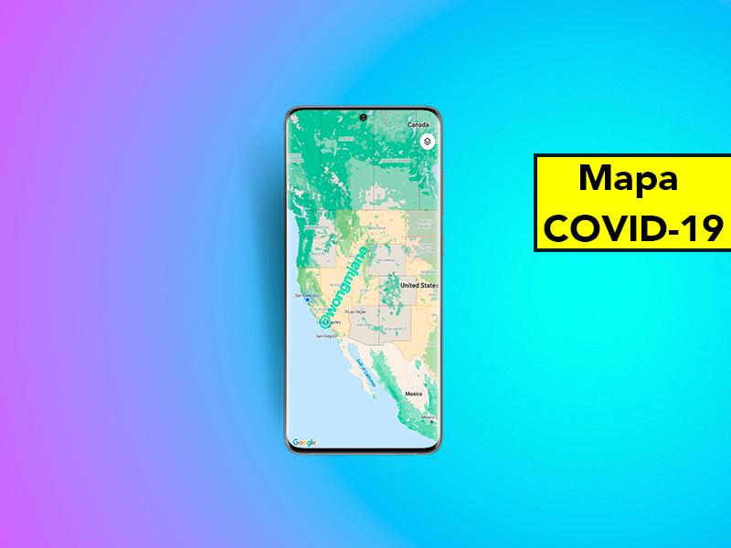 La mejor novedad de Google Maps contra el COVD-19: cómo saber las zonas más afectadas