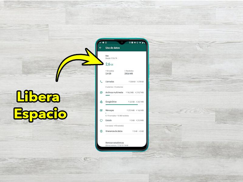 Libera espacio en WhatsApp: la nueva herramienta que debes conocer