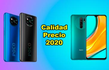 Los mejores móviles relación calidad precio de 2020