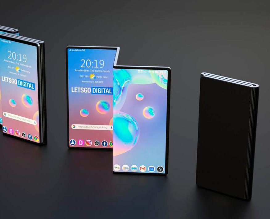 Así sería el plegable de Xiaomi: pantalla gigante y diseño extraño