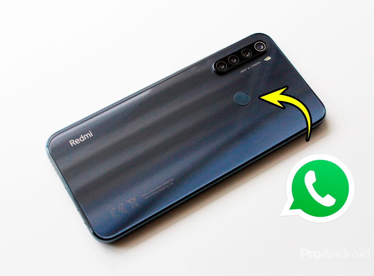 Esta novedad de WhatsApp te interesa mucho si tienes un móvil con sensor de huellas